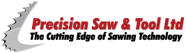 Precision Saw and Tool logo